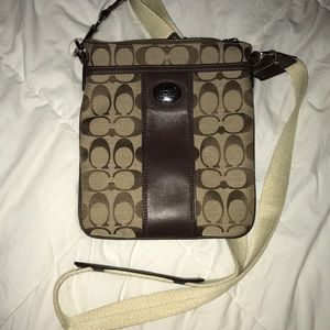 RETIRED gently used coach cross body.